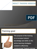 How to Conduct Training.