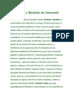 Mandolinas y Bandolas en Venezuela