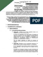 Resolución Legislativa - Proyecto de Ley Nº 4828/2015-CR