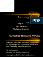 01 Introduction Marketing research