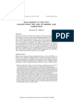 16. Rule Making in the WTO - Lessons From the Case of Bribery and Corruption - K. Abbott