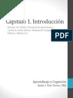 capitulo 1 Introduccion PRINCIPIOS DE APRENDIZSAJE Y CONDUCTA