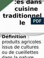 Rôle Des Épices Dans La Cuisine Traditionnelle