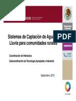 Sistema de Captacion de Agua de Lluvia Para Zonas Rurales