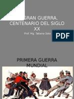 Presentación PRIMERA GUERRA MUNDIAL Scoula Italiana