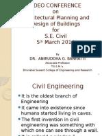 architecturalplanninganddesignofbuildingspuneuniversitysecivilbscoerjspmgroupdr-140310064814-phpapp02.pptx