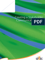 Creating a Stakeholders Communications Plan