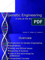 Genetic Engineering (Gowshia, Fatimah, Inthuja)