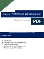 Micro I Clase 03 Las Preferencias