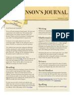 johnsons journal  9-21-15