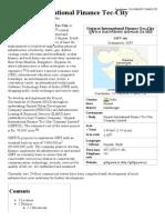 Gujarat International Finance Tec-City - Wikipedia, The Free Encyclopedia