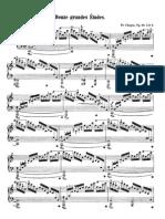 Etude Op  25 No  11 - Chopin