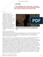 """""""Curtindo"""" Um Castigo - Revista de História"""