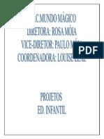 Projetos Educação Infantil 2015