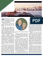 Living Life Newsletter Summer 2015