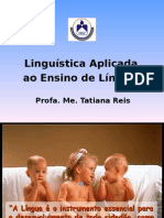 Linguistica Aplicada - Aula Inaugural.ppt_1