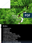 Evs Biodivesity