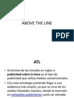 PUBLICIDAD Above the Line