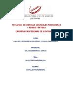 Investigacion Formativa -III