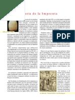 La Imprenta y Su Historia