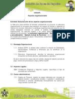 Actividad de Aprendizaje unidad 6, Estructuración de los Aspectos Organizacionales.docx
