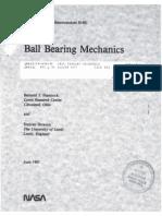 Ball Bearing Analysis NASA