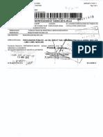 Sentencia PCA Infundada - Caso Vencimiento de Contrato CAS