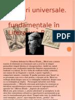 138892664 Mituri Universale Miturile Fundamentale Ale Literaturii Romane