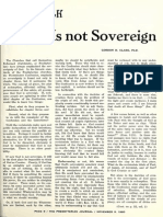 Gordon H. Clark - If God is Not Sovereign - The Southern Presbyterian Journal 18