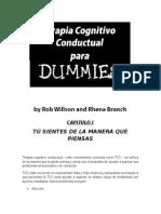 Terapia Cognitivo conductual