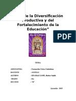 Formacion Civica Ciudadana