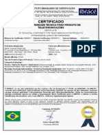 Certificado iPhone 6 - Anatel