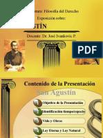 FILOSOFÍA DEL DERECHO SAN AGUSTIN