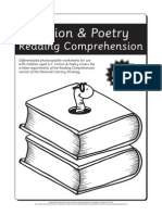 Fiction and Poetry Reading Comprehension - Age 5-7