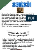 Trabajo de Naturales pasteurización