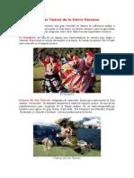 Danzas Típicas de La Sierra Peruana
