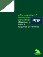 ¿Cómo se dice…(Manual de Español para Inmigrantes - Glosario y Grabaciones) Nivel A1.pdf