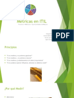Disertación Métricas ITIL