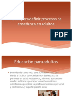 Unidad VII (Retos en El Aprendizaje Adulto)
