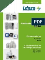 Tarifa Lifasa 2014