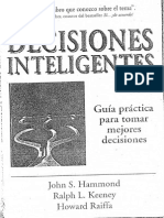 Decisiones Inteligentes Hammond Keeney y Raiffa PDF