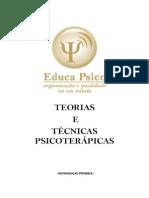 Teorias e Técnicas Psicoterápicas