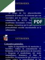 Esteroides.