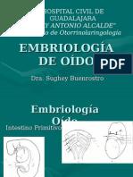 Embriología Oído