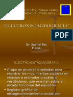 Electronistagmagrafía