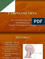 Clase Laringoscopia