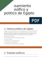 El Pensamiento Prefilosófico y Político de Egipto