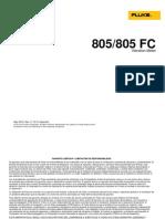 Fluke 805 (Medidor de Vibraciones)