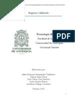 Plan de Estudios Tecnología Biomédica
