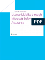 through Software Assurance Customer Licensing Guide